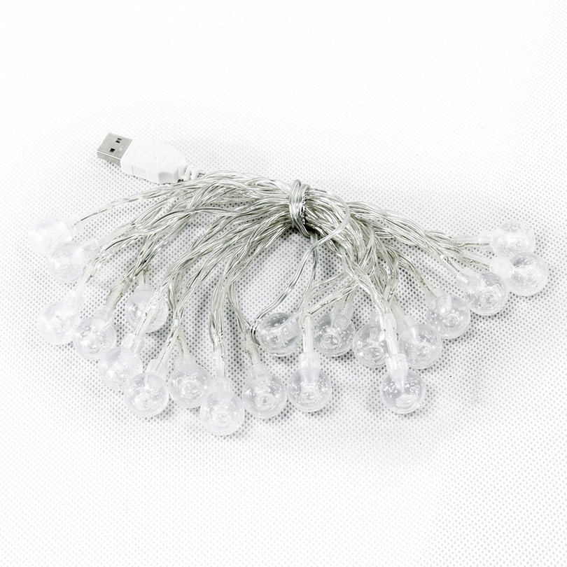 Guirlande boulle Plastique