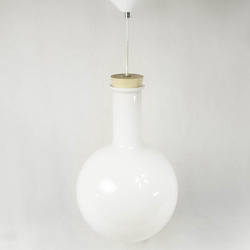lustre boule verre blanc E-27 luminaiare Antananarivo