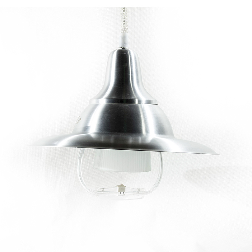 suspension blanc argenter luminaire Arena Antanimena